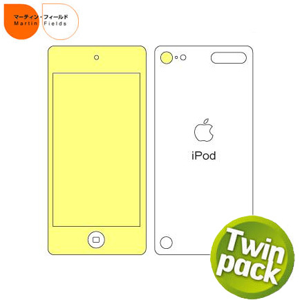 Martin Fields Screen Protector - iPod Touch 5G - Twin Pack