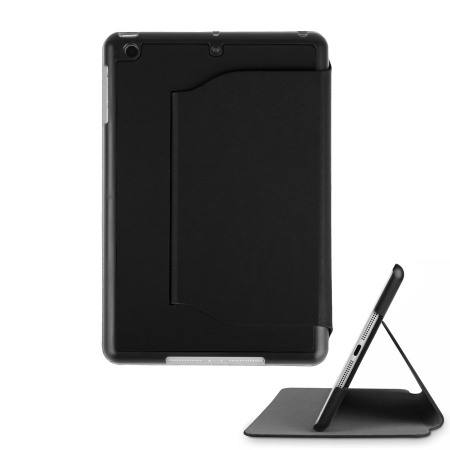 iPad Mini 3 / 2 / 1 Ultra-Thin Leather Case with Stand - Black