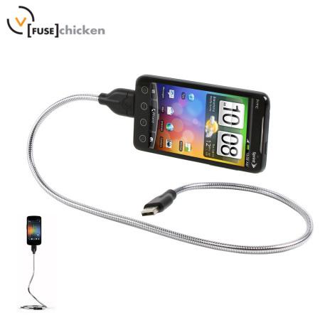 Câble de charge et synchronisation Universel FUSEChicken Une Bobine Flexible 60cm