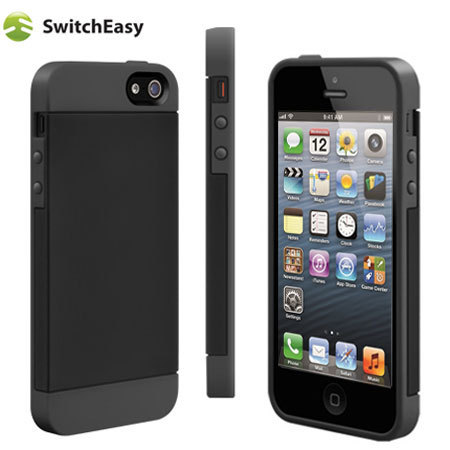 coque iphone 5s 5 switcheasy tones noire avis. Black Bedroom Furniture Sets. Home Design Ideas