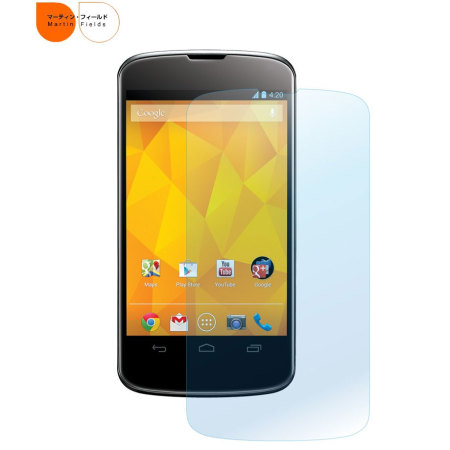 Martin Fields Screen Protector for Google LG Nexus 4