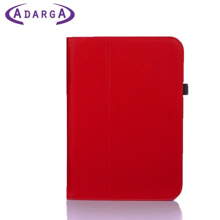 Adarga Folio Stand Google Nexus 10 Case Case - Red