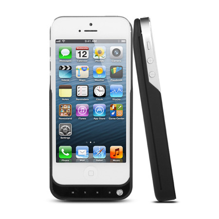 iPhone 5S / 5 Power Jacket Case 2000mAh - Black