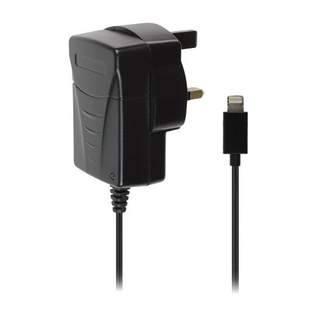Lightning Connector Mains Charger 2.1 amp - Black