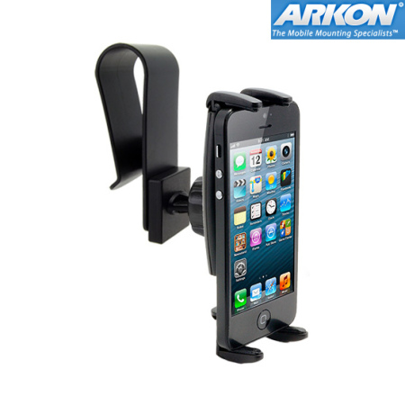 Arkon IPM511 Slim-Grip Sun Visor Car Mount for iPhone 5S / 5C / 5 / SE