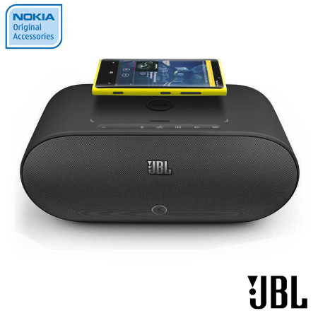 Nokia JBL Powerup Qi Wireless Charging Speaker MD 100WBK Black