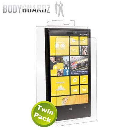 BodyGuardz Nokia Lumia 920 Full Body Protector - Twin Pack