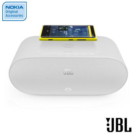 Nokia JBL Powerup Wireless Charging Speaker MD 100WWH White