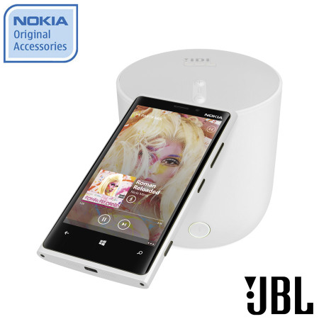 Nokia JBL Playup Portable Wireless Speaker - MD-51WWH - White