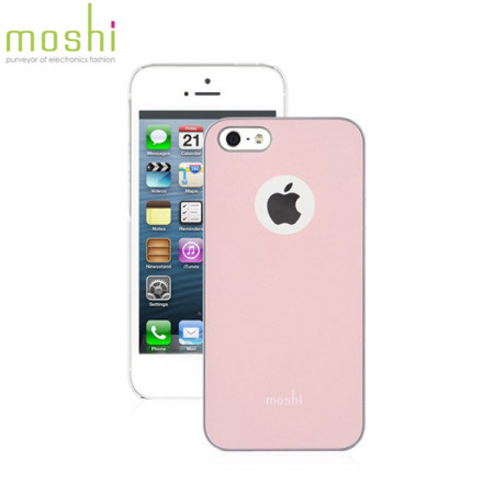 cheap for discount 109d1 9906e Moshi iGlaze Case for iPhone 5S / 5 - Pink
