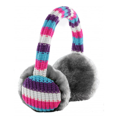 KitSound Audio Earmuff Headphones - Stripes