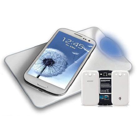 abe70f5e3d3 Kit Cargadores inalámbricos Qi para Samsung Galaxy S3 - Blanco