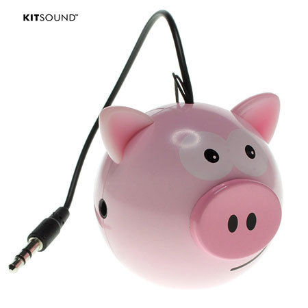 Mini Enceinte KitSound Cochon Buddy
