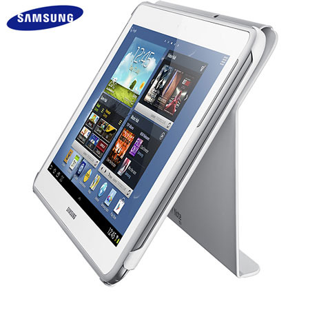 Official Samsung Note 10.1 Book Stand Cover - White