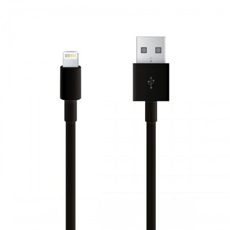 Lightning To Usb Sync Charge Cable Jet Black