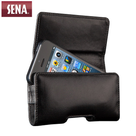 the latest 4b9e9 bf0e7 Sena iPhone 5S / 5 Magnetic Holster Pouch Case - Black
