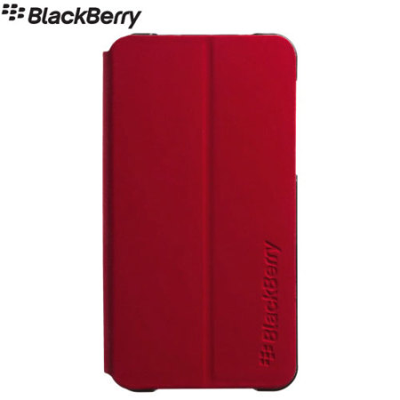 Blackberry Z10 Flip Shell - Red - ACC-49284-203