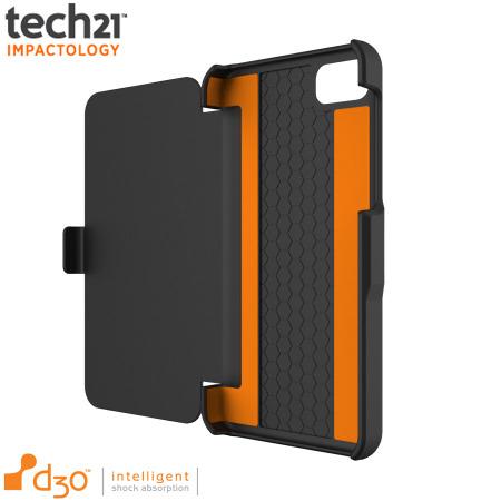 Coque Blackberry Z10 Tech21 Impact Snap avec rabat intégré - Noire