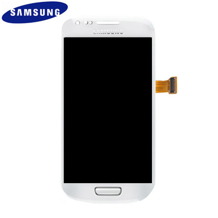 Genuine LCD And Touch Panel for Samsung Galaxy S3 Mini - White