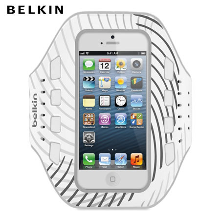 Belkin ProFit Armband for iPhone 5S / 5 - White