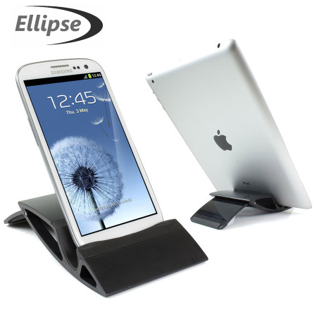 Ellipse Universal Smartphone Tablet Desk Stand Black