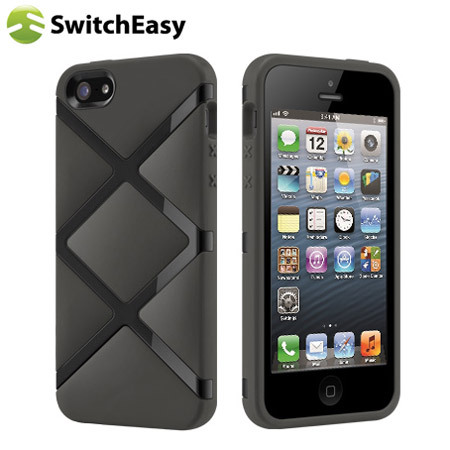 coque iphone 5s 5 switcheasy bonds hybrid noire avis. Black Bedroom Furniture Sets. Home Design Ideas