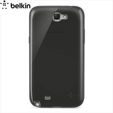 Belkin Grip Sheer Case for Galaxy Note 2 - Translucent Black