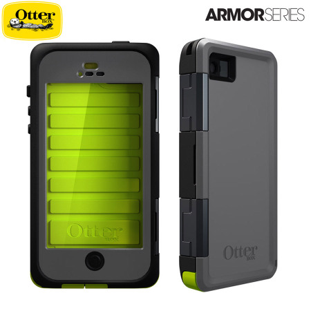 the latest 56fec f1a31 OtterBox Armor Series Waterproof Case for iPhone 5 - Neon / Grey