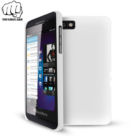 ToughGuard Shell Case for Blackberry Z10 - White