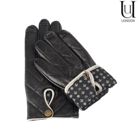 Uunique Women's Leather Touch Screen Gloves - Small / Medium