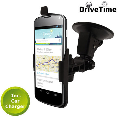 DriveTime Google Nexus 4 Adjustable Car Kit