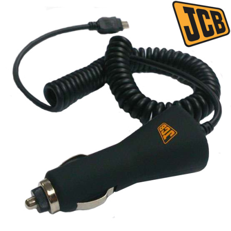 JCB Car Charger with Extra Long Micro USB Port For JCB Phones