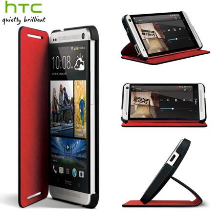 finest selection 7d739 1f437 Genuine HTC One M7 Double Dip Flip Case - HC V841