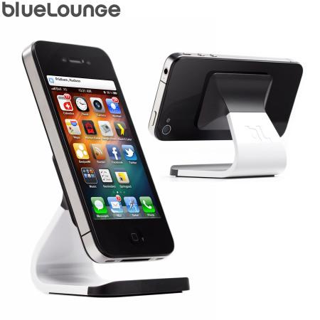 Universal Desktop Phone Stand White