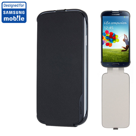 Anymode Samsung Galaxy S4 Flip Case - Black