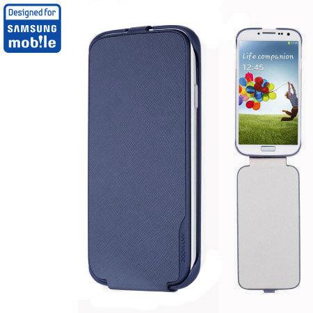 Anymode Samsung Galaxy S4 Flip Case - Blue