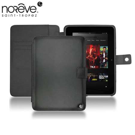 Noreve Tradition Leather Amazon Kindle Fire HD 2012 Case - Black