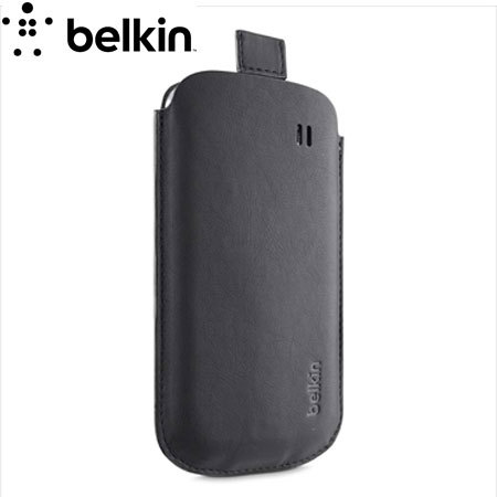 Belkin F8M560 Leather Style Pouch for Samsung Galaxy S4 - Black