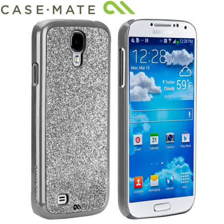 Case-Mate Glimmer For Samsung Galaxy S4 - Silver