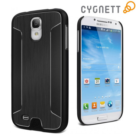 Cygnett Urban Shield For Samsung Galaxy S4 - Black Aluminium