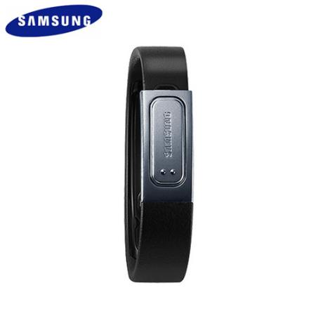 Genuine Samsung Galaxy S4 S Band Fitness Bracelet - Black - Regular