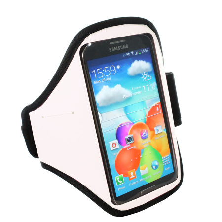 Samsung Galaxy S4 Sports Armband - White