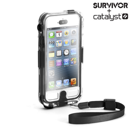 pretty nice d48ce 56d9a Griffin Survivor + Catalyst Waterproof Case for iPhone 5S / 5 - Black
