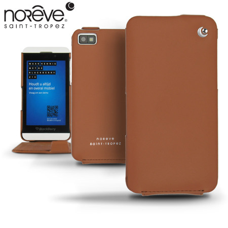 Noreve Tradition Leather Case for BlackBerry Z10 - Brown