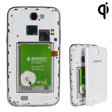 Adaptateur de charge sans fil pour Samsung Galaxy Note 2 Qi