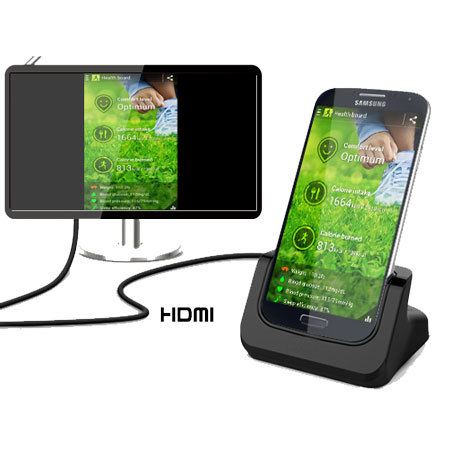 Samsung Galaxy S4 Desktop Charge Cradle With HDMI Out