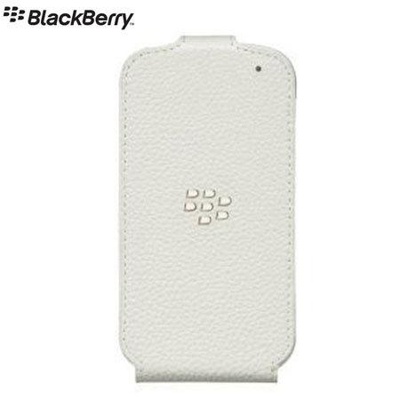 BlackBerry Q10 Flip Shell - White - ACC-50707-202