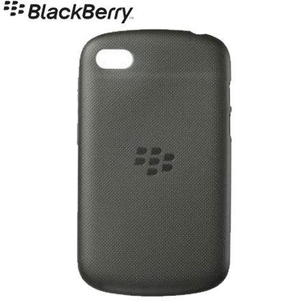 Coque BlackBerry Q10 Soft Shell - ACC-50724-201 - Noire