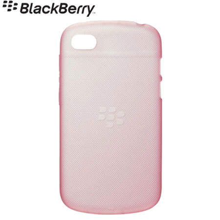 BlackBerry Soft Shell for BlackBerry Q10 - Pink Ballet - ACC-50724-203