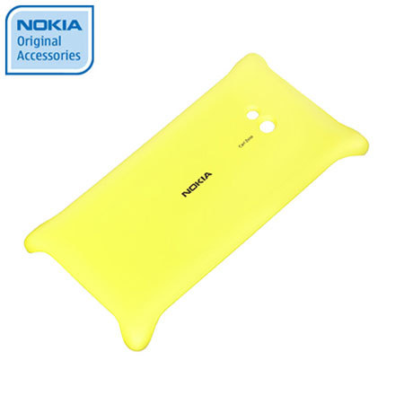 Nokia Original Lumia 720 Wireless Charging Shell CC-3064YEL - Yellow